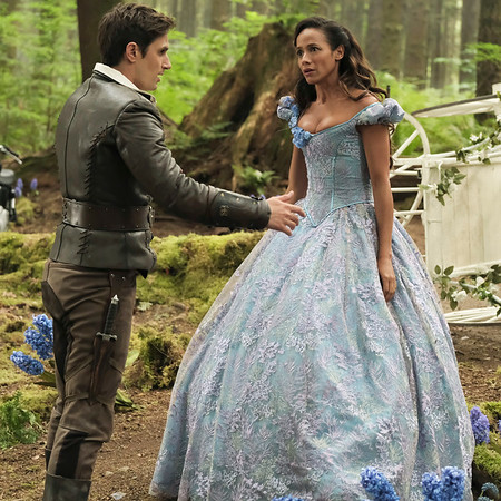 New Cinderella revealed at #D23Expo for upcoming season of ONCE UPON A TIME