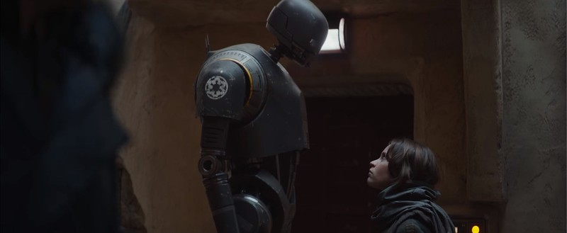 Up close with K-2SO from ROGUE ONE