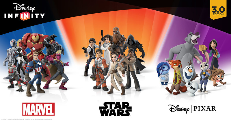 New playsets and figures coming to Disney Infinity 3.0, Marvel Battlegrounds and more