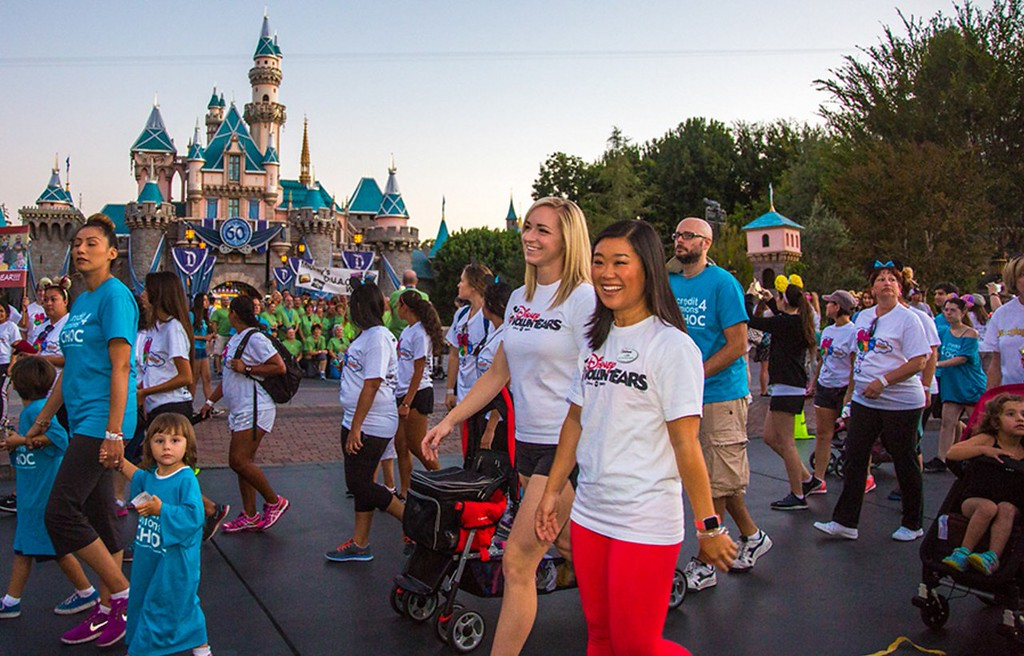 Disneyland Resort raises quarter million with 2015 CHOC WALK IN THE PARK