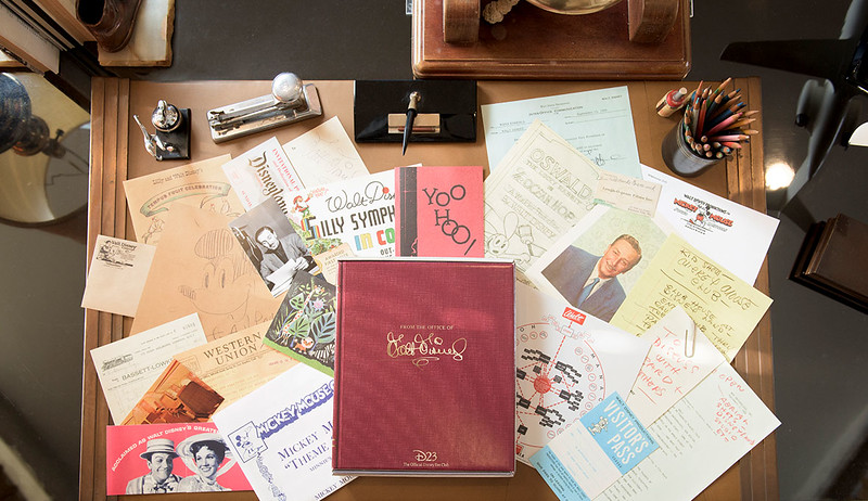 Walt Disney office mementos painstakingly recreated for D23 Members