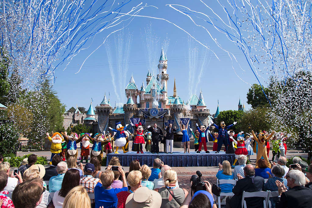 VIDEO: Emotional Disneyland ceremony commemorates 60 years of the Happiest Place on Earth