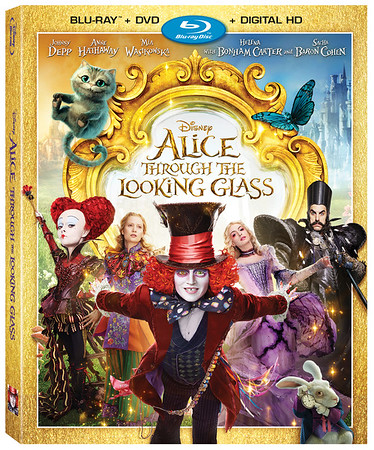 Impressive slew of goodies for home release of ALICE THROUGH THE LOOKING GLASS