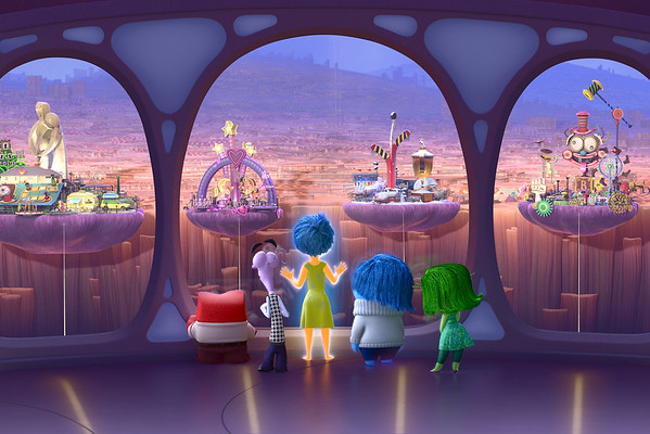 Get inside Riley's head with more INSIDE OUT clips, new stills