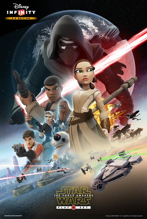 STAR WARS: THE FORCE AWAKENS to launch Play Set for Disney Infinity 3.0 this Friday