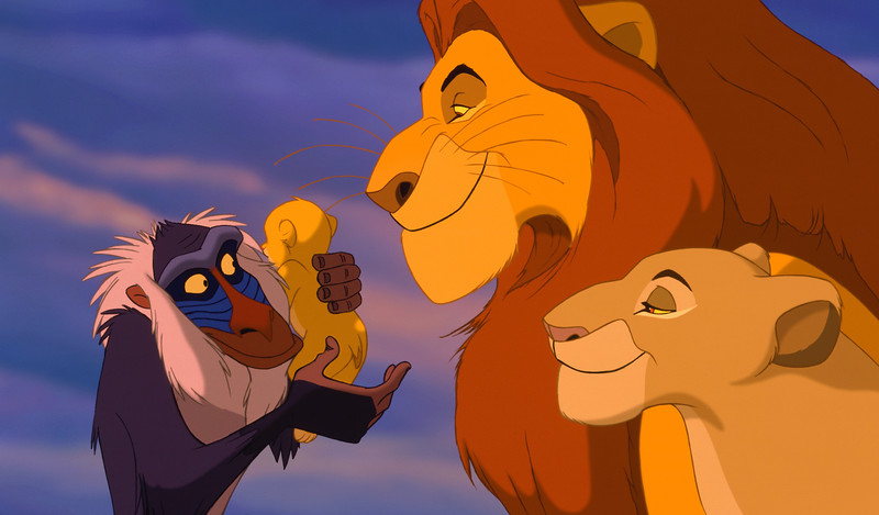 THE LION KING is going to be re-made as live-action feature