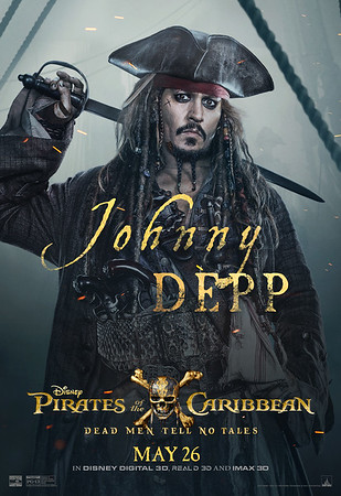 New character posters and sneak peeks coming to Disney Parks and Cruise Line for 'Pirates of the Caribbean: Dead Men Tell No Tales'