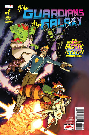 All new GUARDIANS OF THE GALAXY #1 coming just in time for free comic book day