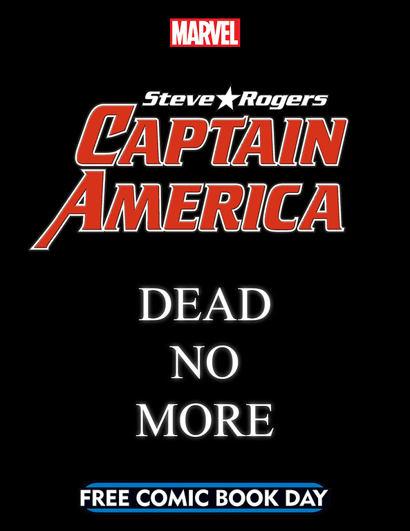Steve Rogers' Captain America returns to comics in new issue for FREE COMIC BOOK DAY