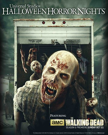 'The Walking Dead' breaks through the gates of Halloween Horror Nights 2015