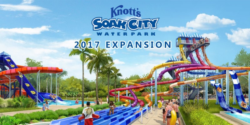 Take a splash this summer with newly expanded Knott's Soak City Waterpark