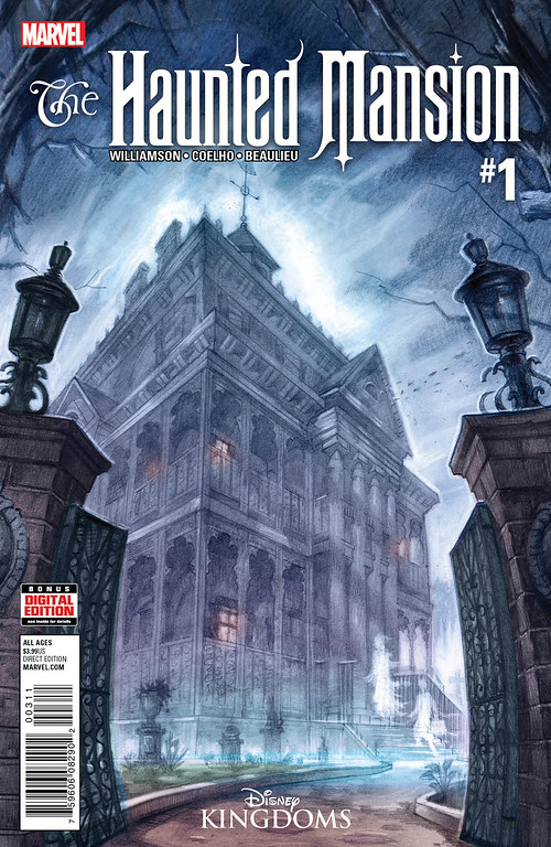 First Look: HAUNTED MANSION #1 brings together Imagineering and Marvel collaboration
