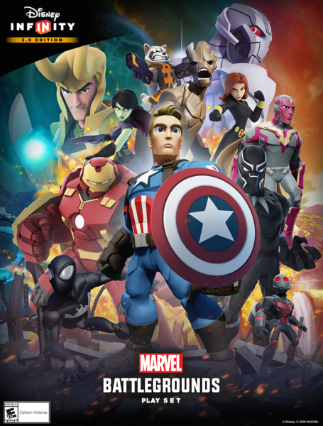 Marvel Battlegrounds the first 4 player brawler game for Disney Infinity now on sale!
