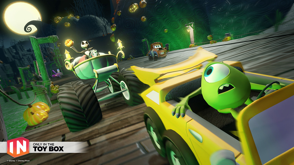 Disney Infinity Toy Box Speedway, hours of fun… worth the cost!