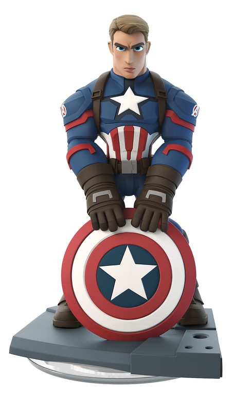Cap gets a new look for MARVEL BATTLEGROUNDS on Disney Infinity 3.0