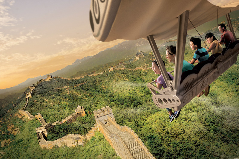 Are you ready to go SOARIN' AROUND THE WORLD?