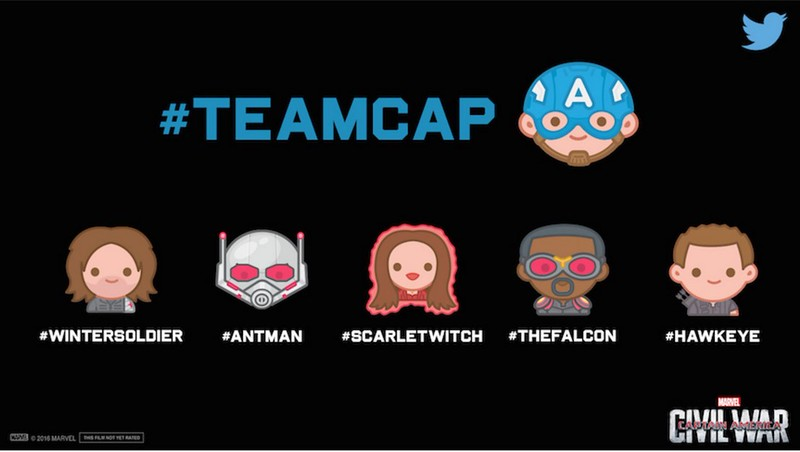 CAPTAIN AMERICA: CIVIL WAR debuts new trailer, Twitter emojiis