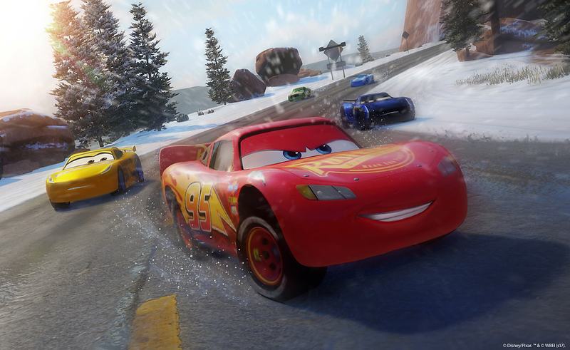 Race against Lightning McQueen in new CARS 3: DRIVEN TO WIN game
