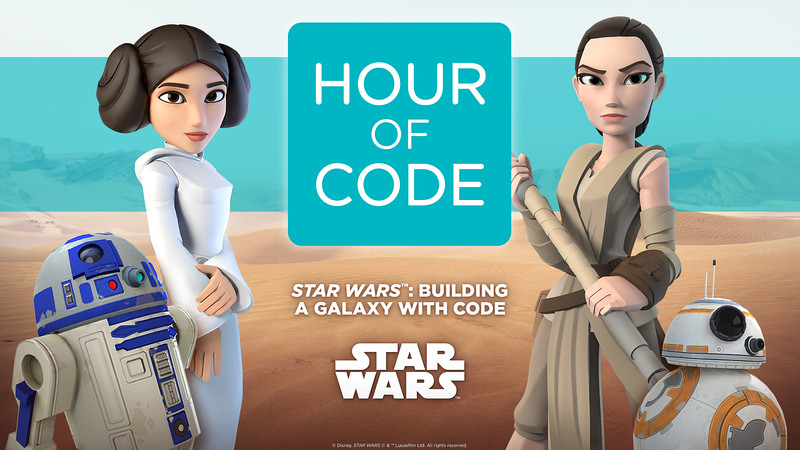 Build your own STAR WARS game with Code.org and Disney