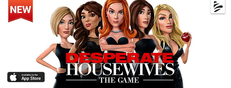 We are so ready to move back onto Wisteria Lane with this new Desperate Housewives app