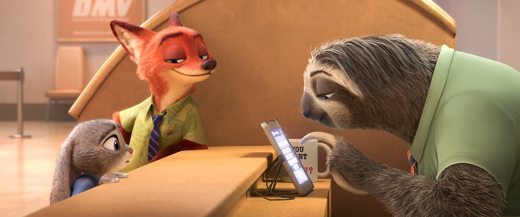 Sloth clip offers look into humorous new world of ZOOTOPIA