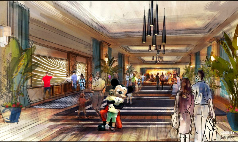 Fourth Disneyland Hotel would be high-end, bring new parking structure, dining, swimming, and more