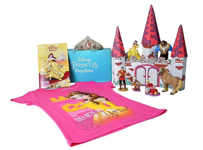 BEAUTY AND THE BEAST to feature in first Disney Princess mystery box on PleyBox
