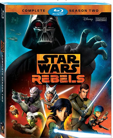 STAR WARS REBELS Complete Second Season comes home August 30 with new bonus material