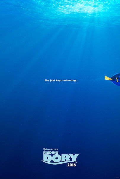 Just keep swimming towards the first look at FINDING DORY in theaters June 17