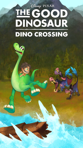THE GOOD DINOSAUR: DINO CROSSING hopper game coming to mobile devices