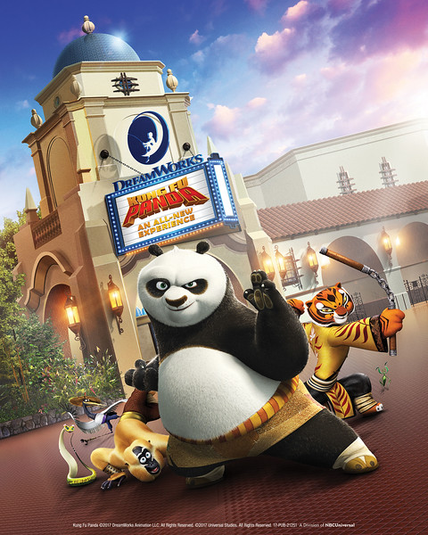 Hello Kitty, KUNG FU PANDA coming to Universal Studios Hollywood in 2018