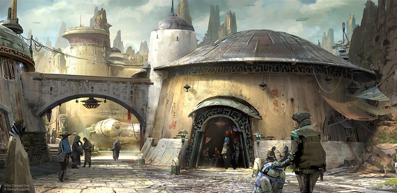 More concept art, details on upcoming 'Star Wars' themed land, plus new STAR TOURS destination