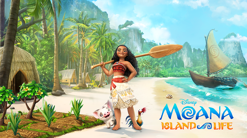 Live the ISLAND LIFE with Moana, now on mobile devices