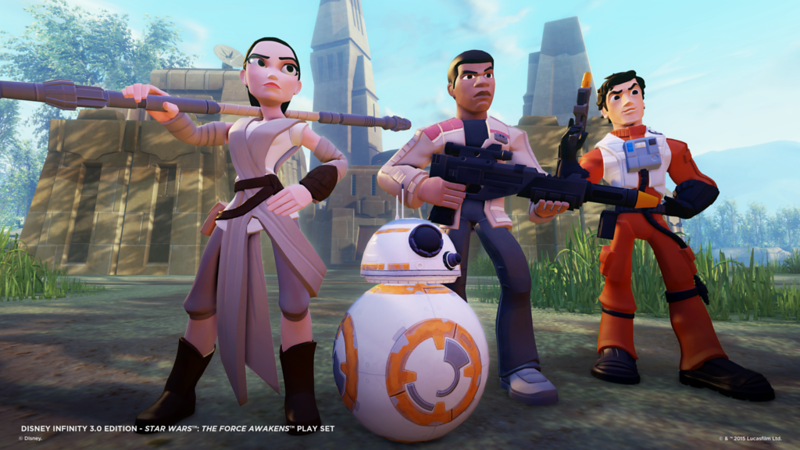 Poe Dameron and Kylo Ren coming to Disney Infinity 3.0