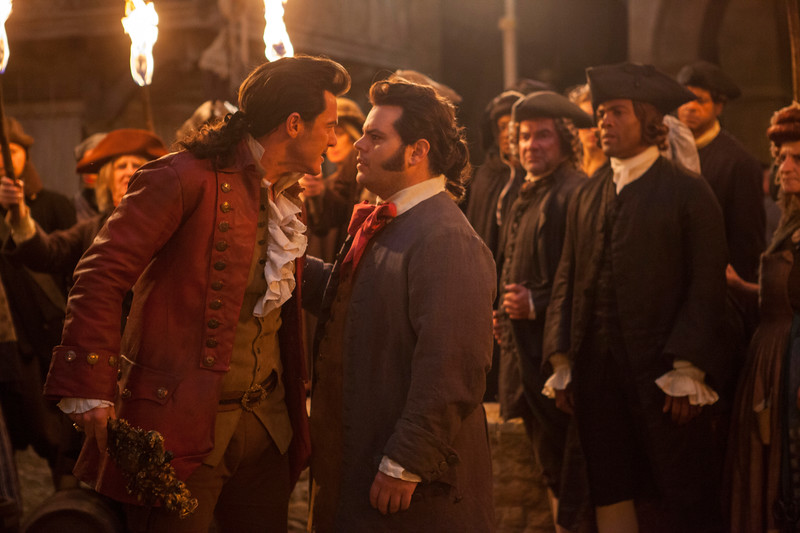 "Josh Gad and Luke Evans performed ""Gaston"" and it was kind of amazing!"