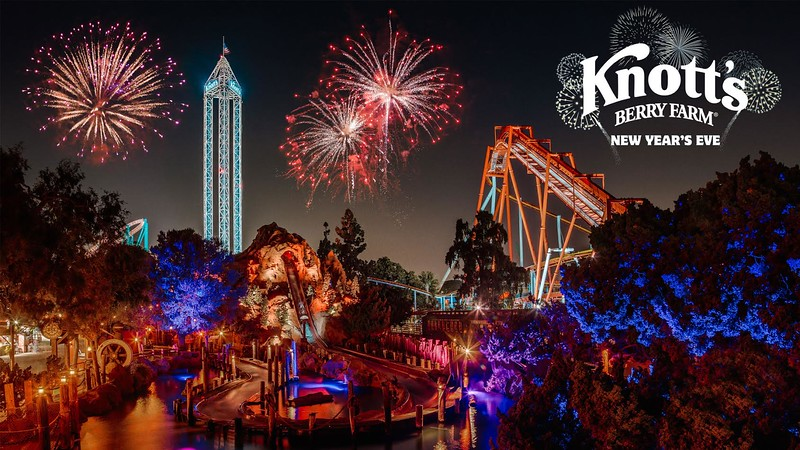 Spend New Year's Eve at Knott's Berry Farm with fireworks, entertainment, and of course: Snoopy!