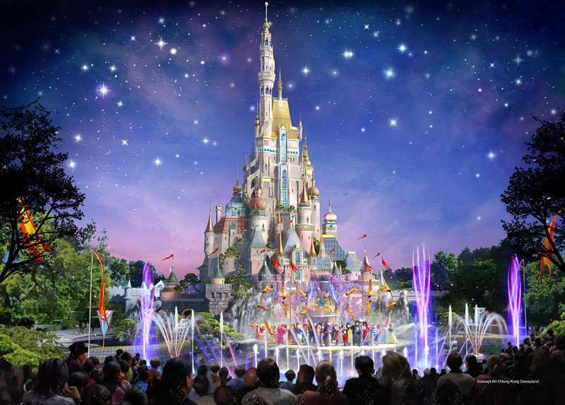 FROZEN, MARVEL and MOANA expansion coming to HONG KONG DISNEYLAND along with a new castle!
