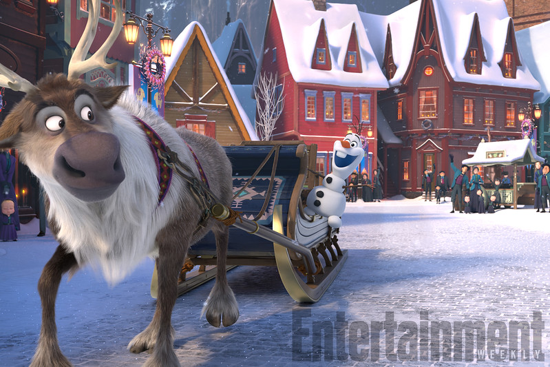 First look at 'Olaf's Frozen Adventure' playing in front of COCO
