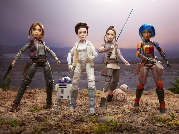 GIRL POWER! 'Star Wars Forces of Destiny' follows franchise heronies