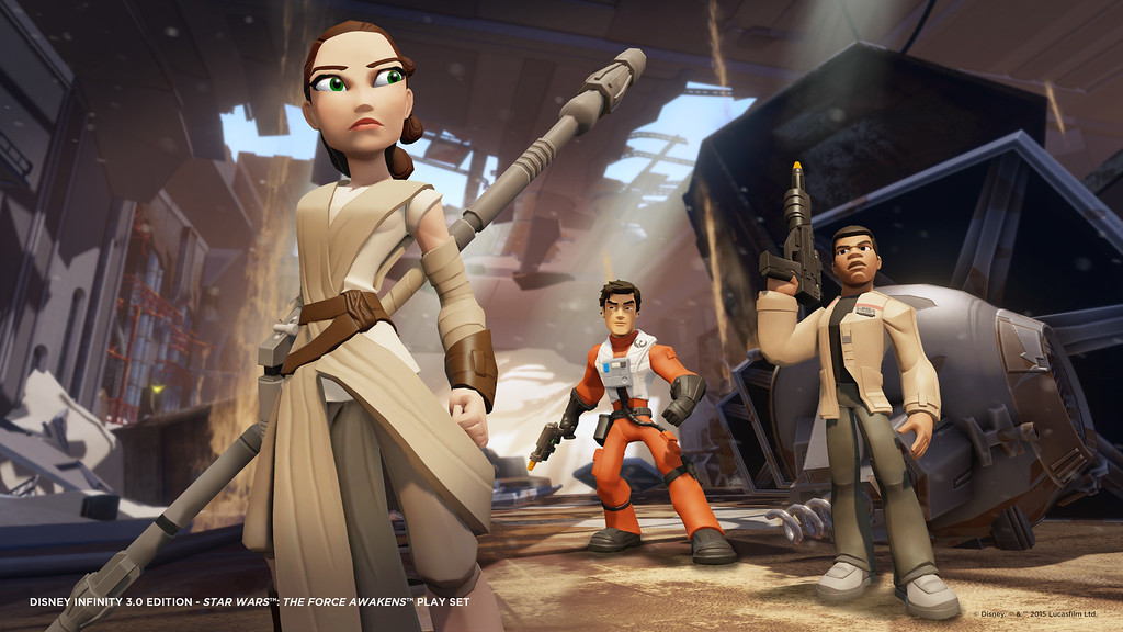 Awaken your imagination with new Disney Infinity 3.0 Play Set for STAR WARS episode VII