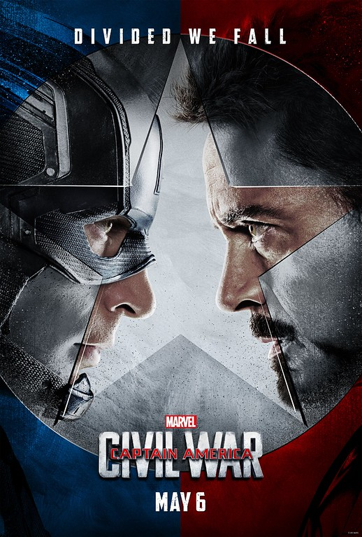 CAPTAIN AMERICAN – CIVIL WAR pits hero against hero, trailer and poster