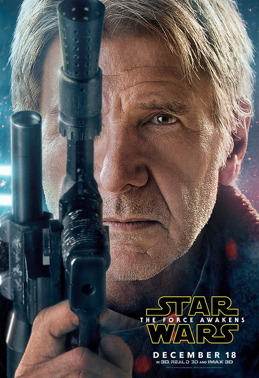 Amazing new character posters for STAR WARS: THE FORCE AWAKENS