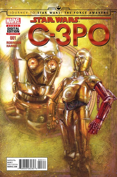How did C-3PO get that red arm? Find out in C-3PO #1