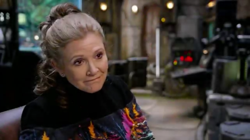 Did we just see Carrie Fisher in 'The Last Jedi'? #StarWarsCelebration