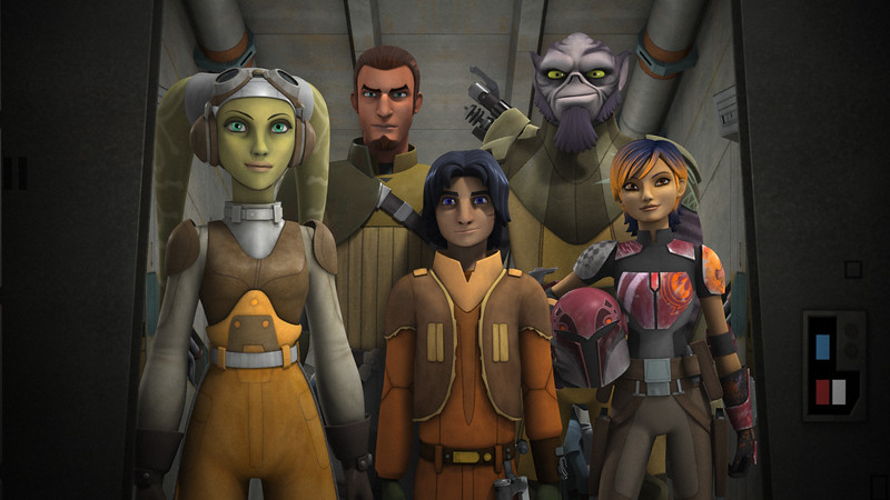 STAR WARS REBELS return for a fourth season this Fall