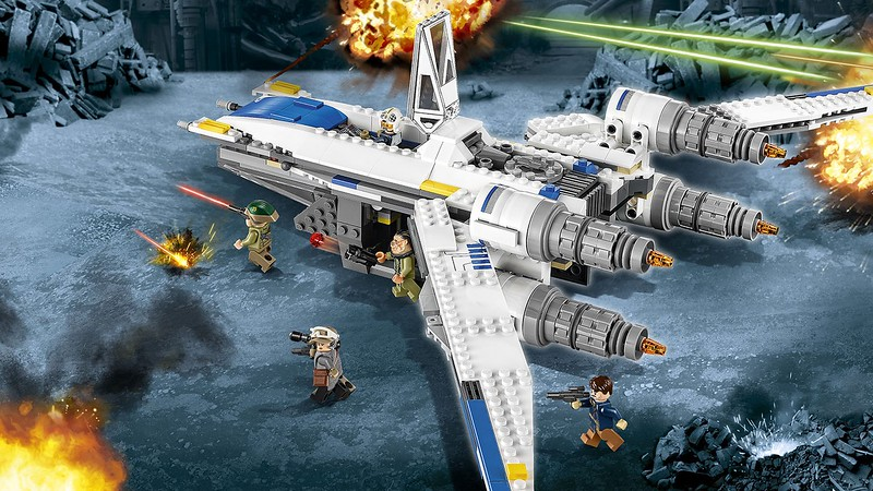 WATCH: Rogue One: A Star Wars Story told by Lego