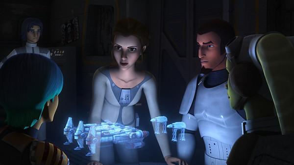 STAR WARS REBELS returns this week with Princess Leia