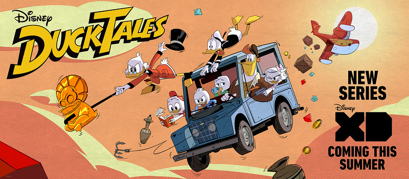 David Tennant cast as Scrooge McDuck plus more announcements for DUCKTALES reboot!