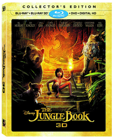 Stunning live action THE JUNGLE BOOK comes home in 3D, November 15